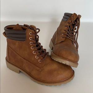 Forever 21 boots worn 1